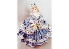 ポーセリン・レースドール(磁器人形)のイメージ