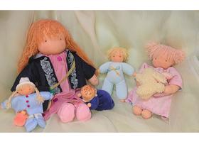 ウォルドルフ人形のイメージ
