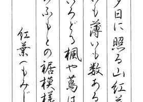美しいペン習字のイメージ