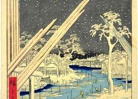 広重の錦絵『名所江戸百景』を歩くのイメージ