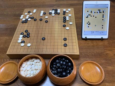 【宮島先生初段を目指す囲碁教室】写真2