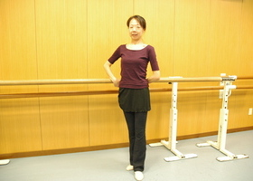 ストレッチバレエのイメージ