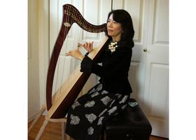癒しと安らぎの楽器ハープのイメージ