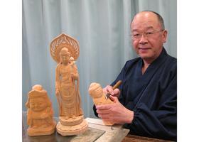 楽しい仏像彫刻のイメージ